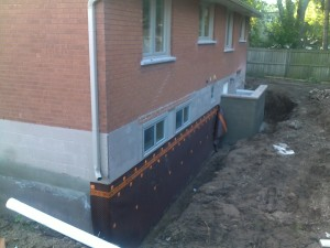 9 New Membrane and New Block Wall
