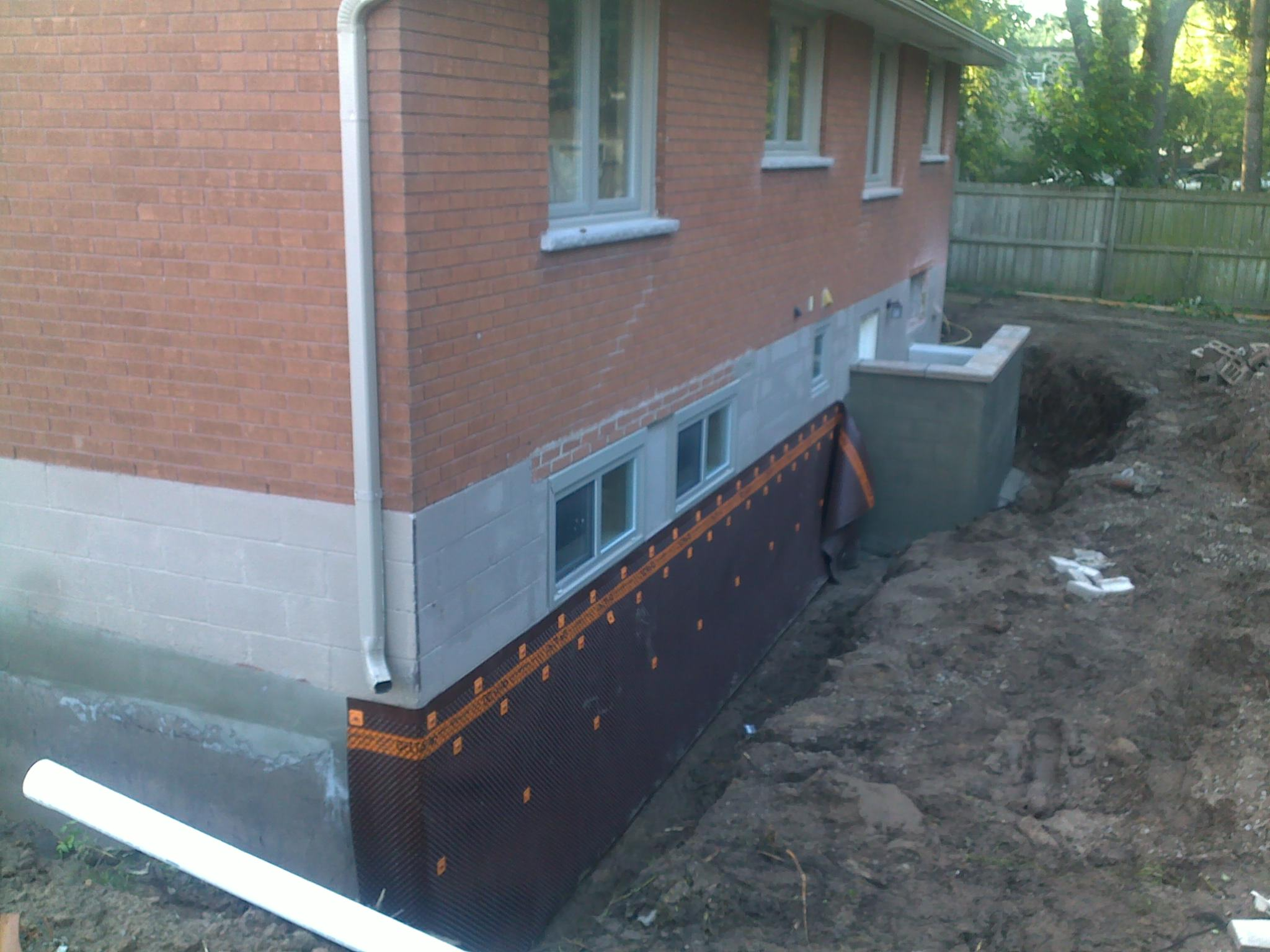 Wet Basement Repair and Regrading